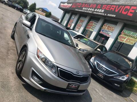 2012 Kia Optima Hybrid for sale at Washington Auto Group in Waukegan IL