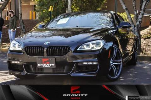 2018 BMW 6 Series for sale at Gravity Autos Atlanta in Atlanta GA