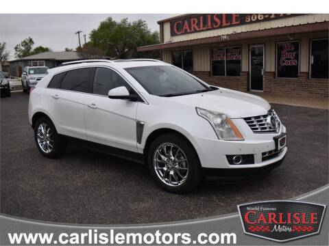 2015 Cadillac SRX for sale at Carlisle Motors in Lubbock TX