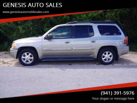 2003 GMC Envoy XL for sale at GENESIS AUTO SALES in Port Charlotte FL