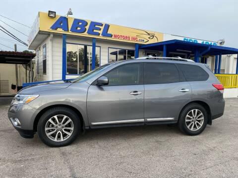 2015 Nissan Pathfinder for sale at Abel Motors, Inc. in Conroe TX