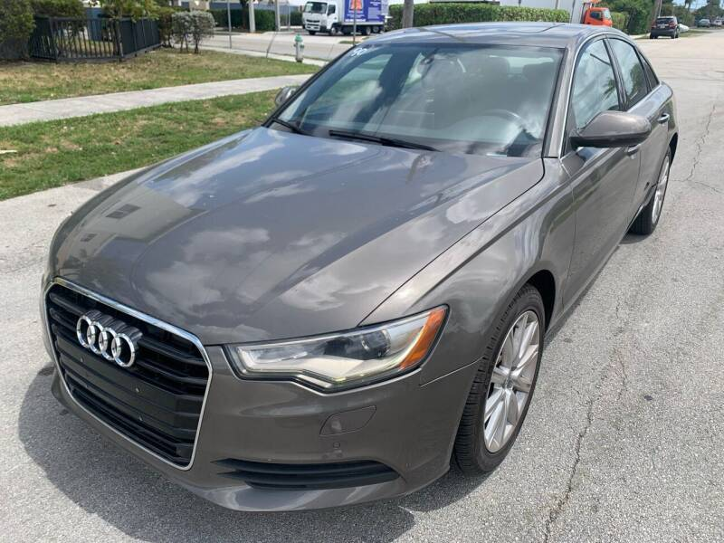 2013 Audi A6 for sale at Eden Cars Inc in Hollywood FL