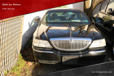 2009 Lincoln Town Car for sale at Shah Jee Motors in Woodside NY