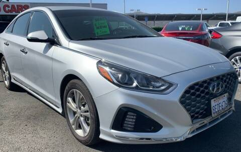 2018 Hyundai Sonata for sale at BILLY D SELLS CARS! in Temecula CA