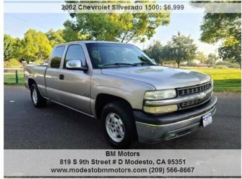 2002 Chevrolet Silverado 1500 for sale at BM Motors in Modesto CA
