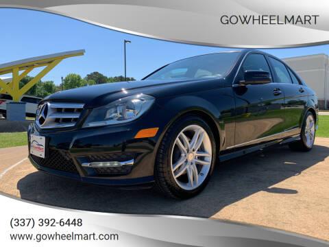 2013 Mercedes-Benz C-Class for sale at GOWHEELMART in Leesville LA