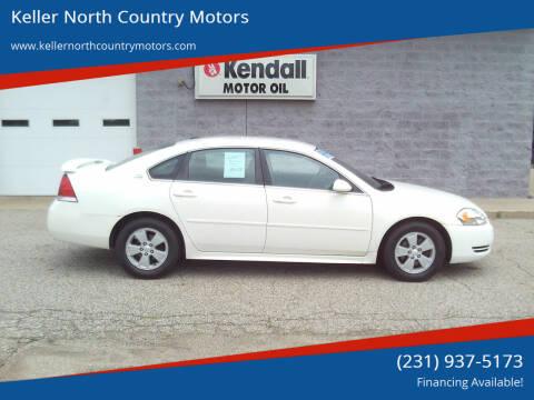 2009 Chevrolet Impala for sale at Keller North Country Motors in Howard City MI