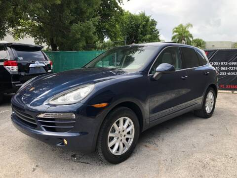 2012 Porsche Cayenne for sale at Florida Automobile Outlet in Miami FL