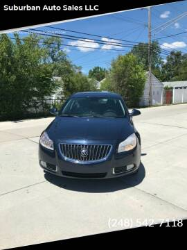 2011 Buick Regal for sale at Suburban Auto Sales LLC in Madison Heights MI