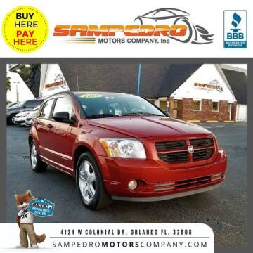 2007 Dodge Caliber for sale at SAMPEDRO MOTORS COMPANY INC in Orlando FL