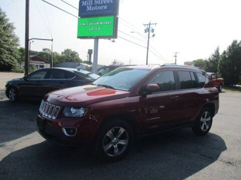 2017 Jeep Compass for sale at Mill Street Motors in Worcester MA