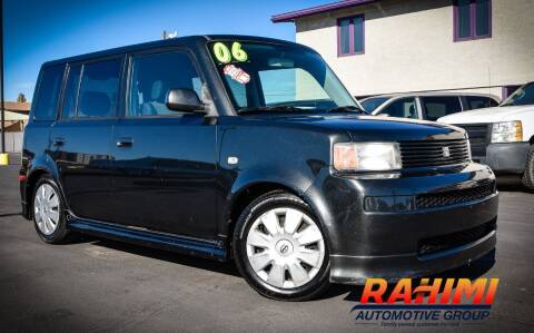 2006 Scion xB for sale at Rahimi Automotive Group in Yuma AZ