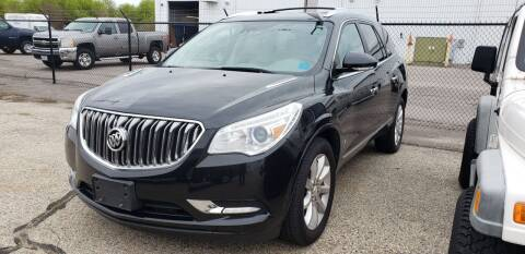 2015 Buick Enclave for sale at Advantage Auto Sales & Imports Inc in Loves Park IL