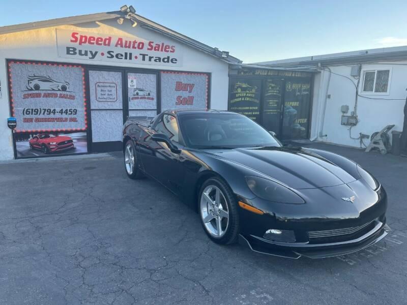 2007 Chevrolet Corvette for sale at Speed Auto Sales in El Cajon CA