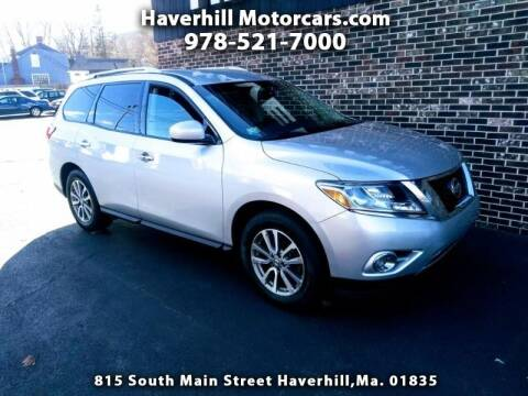 2016 Nissan Pathfinder for sale at 125 Auto Finance in Haverhill MA