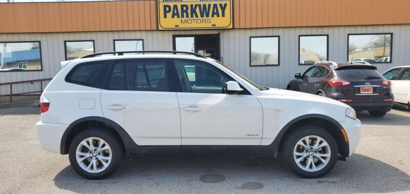 2010 BMW X3 for sale at Parkway Motors in Springfield IL