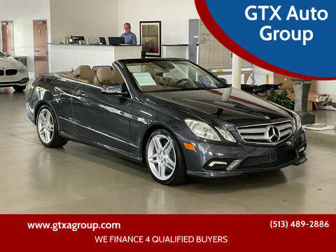 2011 Mercedes-Benz E-Class for sale at UNCARRO in West Chester OH