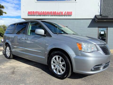 2014 Chrysler Town and Country for sale at Heritage Automotive Sales in Columbus in Columbus IN