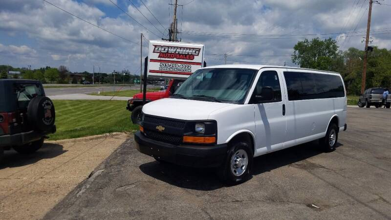 2017 Chevrolet Express Passenger for sale at Downing Auto Sales in Des Moines IA