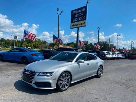 2012 Audi A7 for sale at Michaels Autos in Orlando FL