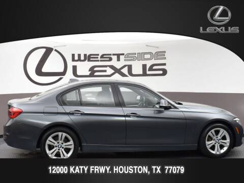 2016 BMW 3 Series for sale at LEXUS in Houston TX