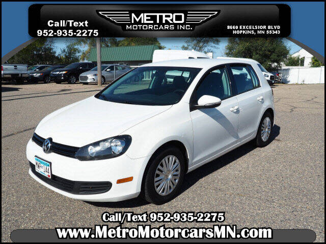 2012 Volkswagen Golf for sale at Metro Motorcars Inc in Hopkins MN