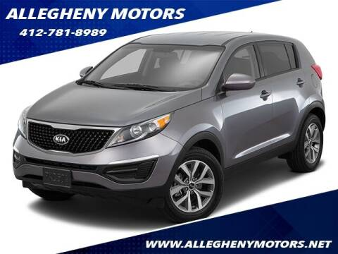 2016 Kia Sportage for sale at Allegheny Motors in Pittsburgh PA