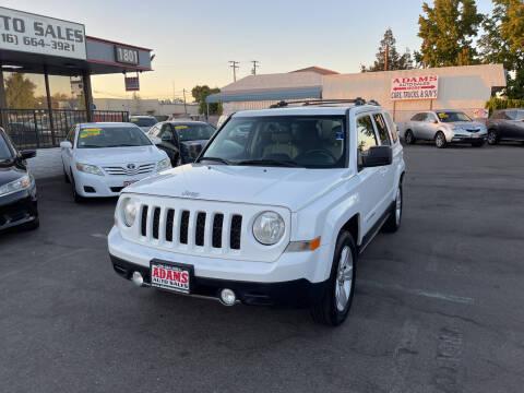 2014 Jeep Patriot for sale at Adams Auto Sales in Sacramento CA