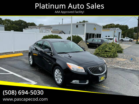 2013 Buick Regal for sale at Platinum Auto Sales in South Yarmouth MA