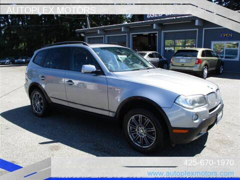 2007 BMW X3 for sale at Autoplex Motors in Lynnwood WA