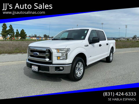 2015 Ford F-150 for sale at JJ's Auto Sales in Salinas CA