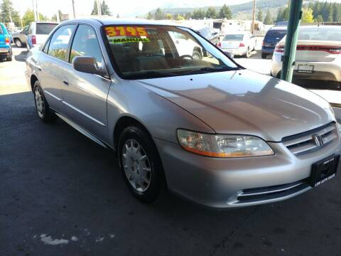 2001 Honda Accord for sale at Low Auto Sales in Sedro Woolley WA