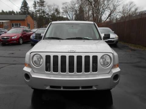 2008 Jeep Patriot for sale at MT MORRIS AUTO SALES INC in Mount Morris MI