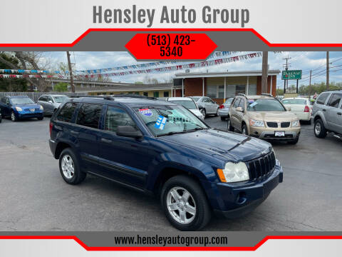 2006 Jeep Grand Cherokee for sale at Hensley Auto Group in Middletown OH
