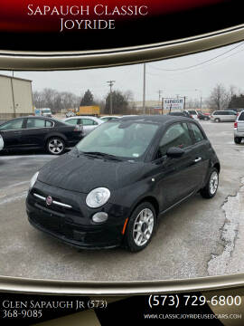2015 FIAT 500 for sale at Sapaugh Classic Joyride in Salem MO