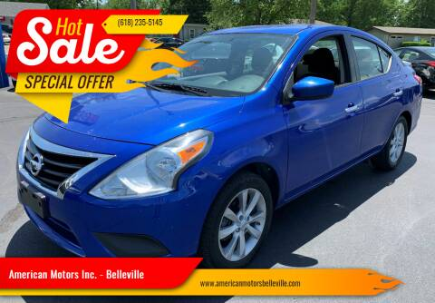 2016 Nissan Versa for sale at American Motors Inc. - Belleville in Belleville IL