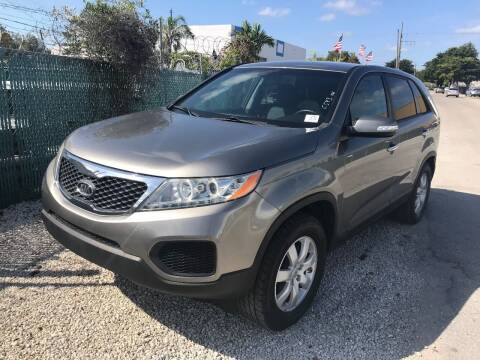 2012 Kia Sorento for sale at Best Auto Deal N Drive in Hollywood FL