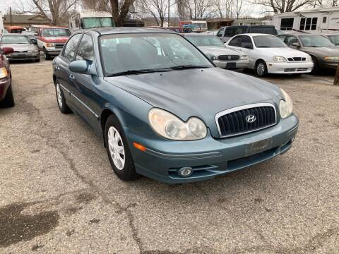 2004 Hyundai Sonata for sale at AFFORDABLY PRICED CARS LLC in Mountain Home ID