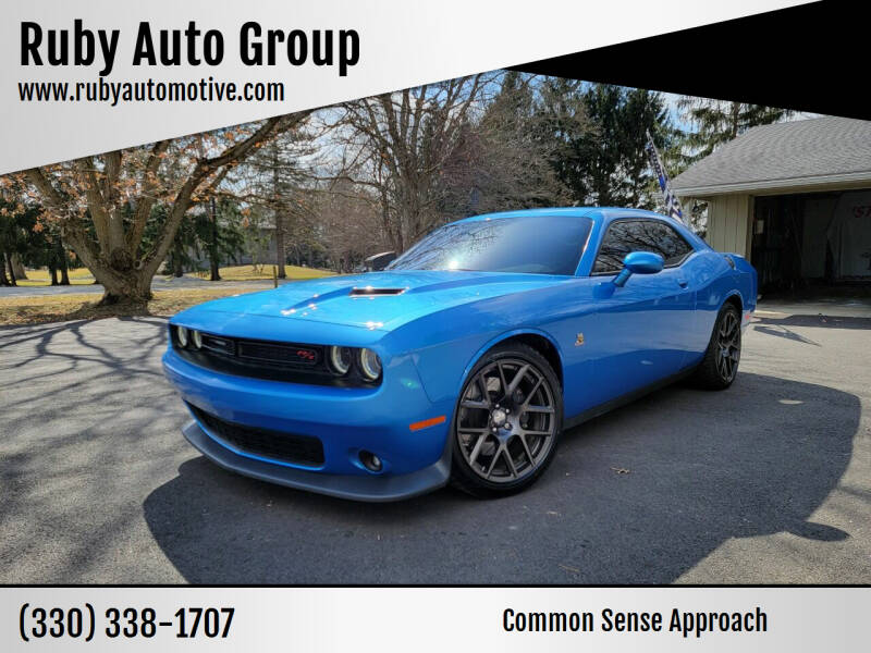 2016 Dodge Challenger for sale at Ruby Auto Group in Hudson OH