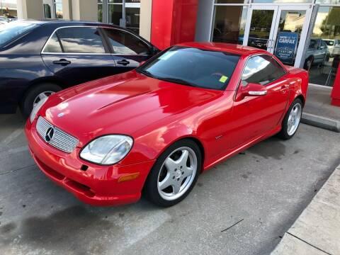 2001 Mercedes-Benz SLK for sale at Thumbs Up Motors in Warner Robins GA