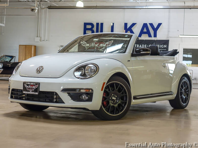 2015 Volkswagen Beetle Convertible for sale at Bill Kay Corvette's and Classic's in Downers Grove IL