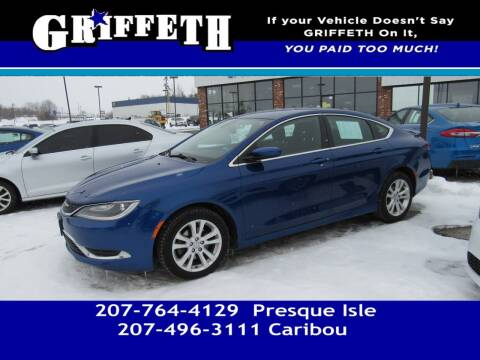 2015 Chrysler 200 for sale at Griffeth Mitsubishi - Pre-owned in Caribou ME