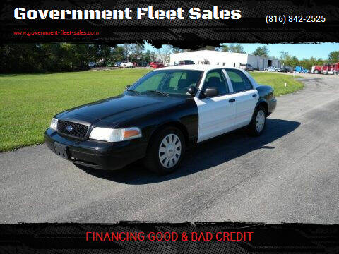 2010 Ford Crown Victoria for sale at Government Fleet Sales in Kansas City MO