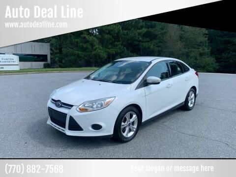 2013 Ford Focus for sale at Auto Deal Line in Alpharetta GA