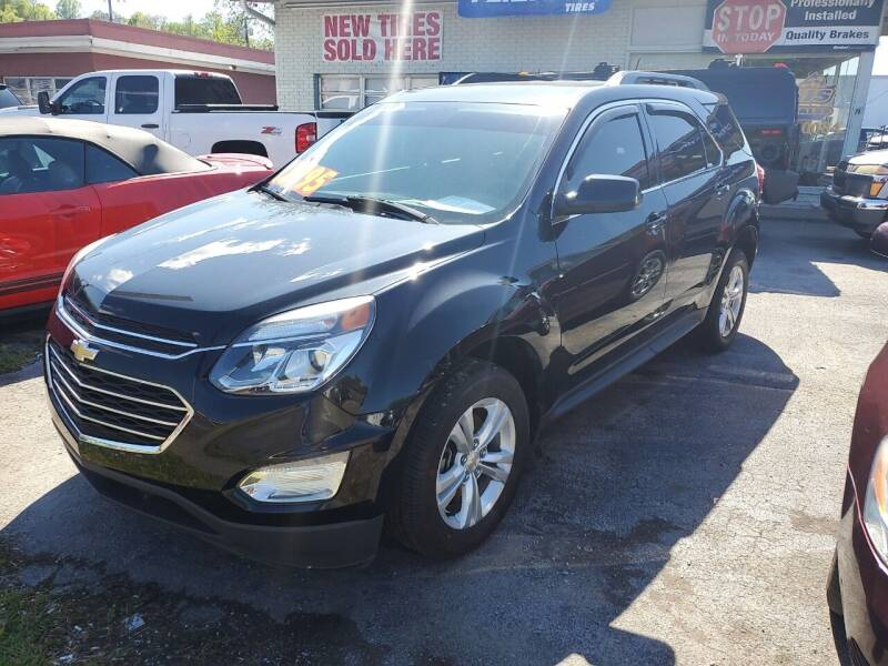 2016 Chevrolet Equinox for sale at Ellis Auto Sales and Service in Middlesboro KY