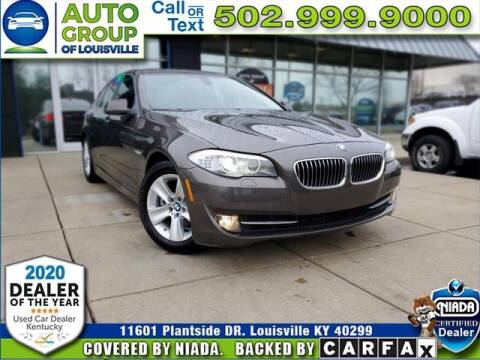 2012 BMW 5 Series for sale at Auto Group of Louisville in Louisville KY