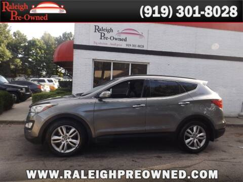 2014 Hyundai Santa Fe Sport for sale at Raleigh Pre-Owned in Raleigh NC