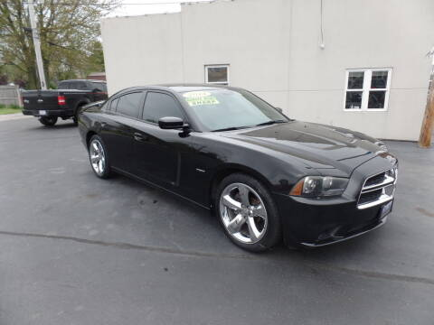 2014 Dodge Charger for sale at DeLong Auto Group in Tipton IN