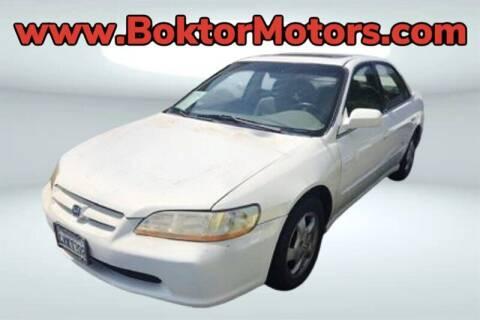 1998 Honda Accord for sale at Boktor Motors in North Hollywood CA