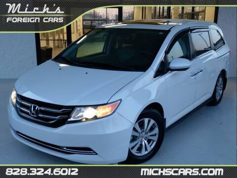 2015 Honda Odyssey for sale at Mich's Foreign Cars in Hickory NC